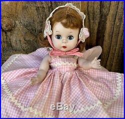 Vintage 1953 Madame Alexander Quiz Kin Doll