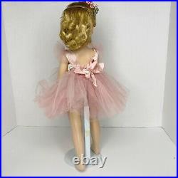 Vintage 1954 Madame Alexander Margot Margaret Ballerina Doll 18 inch Walker Doll