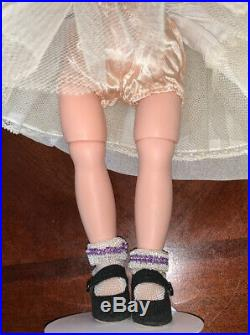 Vintage 1956-59 MADAME ALEXANDER Jointed LISSY Doll In Tagged Garden Gown