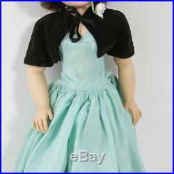 Vintage 1956 Madame Alexander 20 Brunette Cissy Doll In Original Outfit