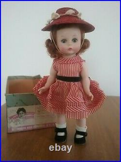 Vintage 1956 Madame Alexander-Kins BKW #594 Wendy Calls on a School Friend