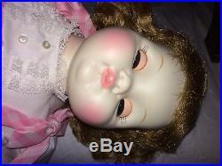 Vintage 1965 Madame Alexander Puddin Baby Doll Ma9000 Pink Dress 20