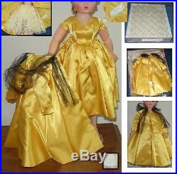 Vintage Alexander Outfit For Cissy Doll 20 In Box Put On Doll To Show You