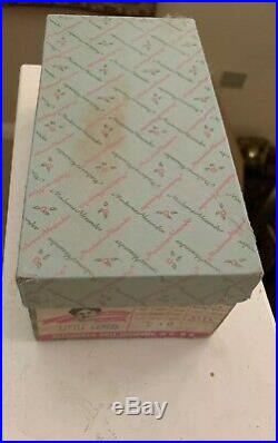 Vintage Madame ALEXANDER LITTLE GENIUS With Spoon Box And Tag All Original