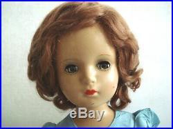 Vintage Madame Alexander 18 Margaret O'Brien Face Doll