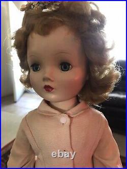 Vintage Madame Alexander 18 Winnie Binnie Walker Doll WTagged original clothes