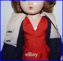 Vintage Madame Alexander 18 Winnie Binnie Walker original clothes