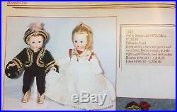 Vintage Madame Alexander 1955 #473 JULIET 8 SLW HP RARE AND HTF