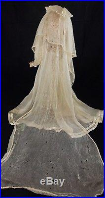 Vintage Madame Alexander 21In tagged Wedding Gown Wendy Composition