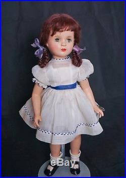 Vintage Madame Alexander 21 Composition Tagged Margaret O'Brian Doll All Origin
