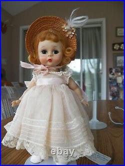 "Madame Alexander 8"" White Socks Good Condition Vintage"
