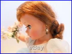 Vintage Madame Alexander AUBURN CISSETTE in 741 BRIDESMAID BLUE Outfit withBOX