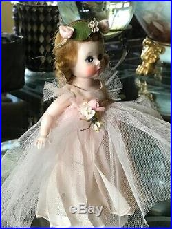 Vintage Madame Alexander Alexanderkins Pink Bridesmaid