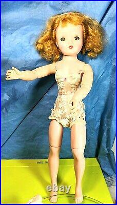 Vintage Madame Alexander CISSY 20 Doll, 1950sTagged Chemise 2 dresses