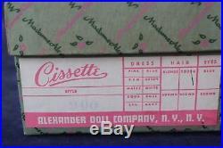 Vintage Madame Alexander Cissette 900 Blonde MIB Beautiful Face Complexion
