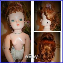 Vintage Madame Alexander Cissy 1950's Magnificent Redhead