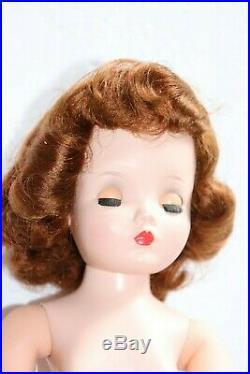 Vintage Madame Alexander Cissy Doll 1955 RedHead Black Widow