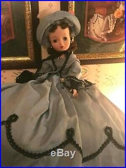 Vintage Madame Alexander Cissy Doll 20 1961 Taffeta Scarlett Portrait Brunette