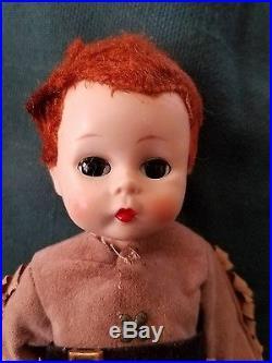 Vintage Madame Alexander Davy Crockett Boy/Male Doll-Tagged