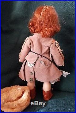 Vintage Madame Alexander Davy Crockett Girl/Female Doll-Tagged