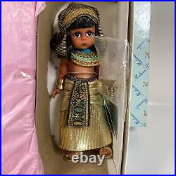 Vintage Madame Alexander Doll Egypt with Sarcophagus New In Box