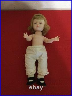 Vintage Madame Alexander Dolls AMY Little Women 8 Alexander-Kins Walker 1963