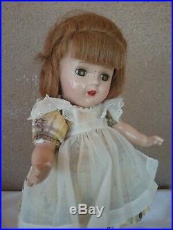 Vintage Madame Alexander Flora McFlimsey 14 doll 1930s composition tagged 1938