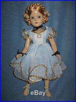 Vintage Madame Alexander Karen Ballerina Doll Composition 18in Lqqk