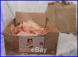 Vintage Madame Alexander Kathy with Original Box and Spectacular Brown Eyes! WOW