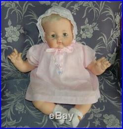 Vintage Madame Alexander Kitten Baby Doll 1961 Clean 20 Body New Crier Orig Box