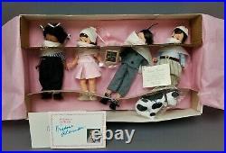 Vintage Madame Alexander Little Rascals 8, 4 Doll Set NEW in Box FAO Schwarz