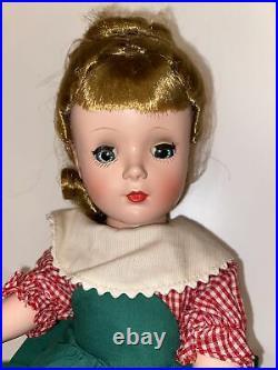 Vintage Madame Alexander Little Women Meg 14 Rare Bent Knee Doll 1955