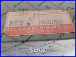 Vintage Madame Alexander Wendy SLW 8 Doll 1954 ALEXANDER-KINS boxed read