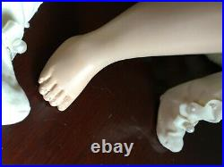 Vintage Madame Alexander and Effanbee dolls 16 in. Lots of clothes c. 1940s