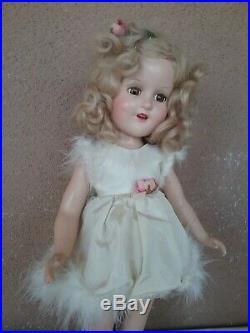 Vintage Madame Alexander composition 1930s doll 14 Sonja Henie ice skater