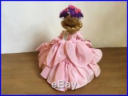 Vintage Madame Alexander-kins Doll RARE 1956 BKW Pink Southern Belle WRIST TAG