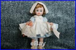 Vintage Madame Alexander-kins Wendy NURSE withBaby #363, 8 BKW, Blonde, mark ALEX
