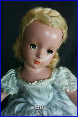 Vintage Margaret Face Madame Alexander 14 Cinderella 1950 with dress tag