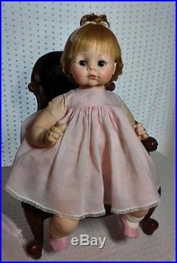Vintage Vinyl & Cloth Rare Madame Alexander 24 Pussycat Baby Doll