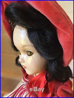 Vintage doll Madame Alexander Scarlett O Hara 1940's