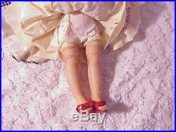 Vintage older Madame Alexander doll LISSY A/O 1950s