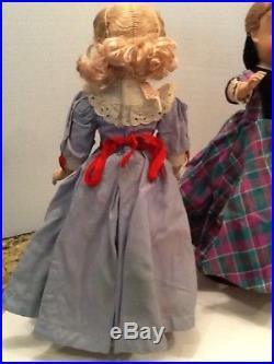 Vtg Madame Alexander 5 Little Women Dolls Jo Meg Beth Amy Marme Original 40s