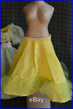Vtg Madame Alexander Cissy 20 Doll Dress Rare #2121, with Original Slip, 1957